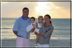 Family vacation on Longboat Key.