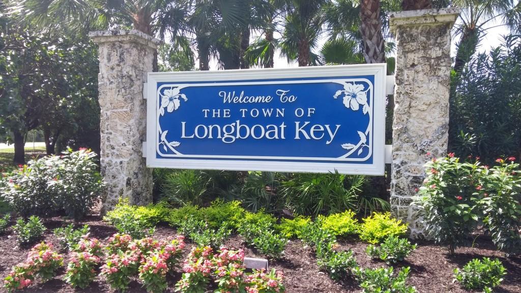 Longboat Key Welcome sign