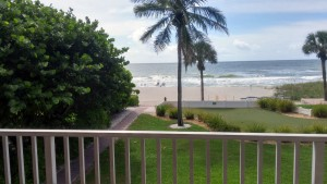 condo 201 balcony view