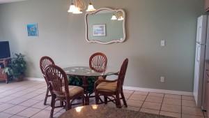 condo 202 dining room