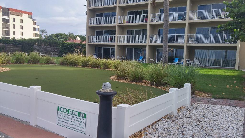 Turtle Crawl Beach Resort on Longboat Key