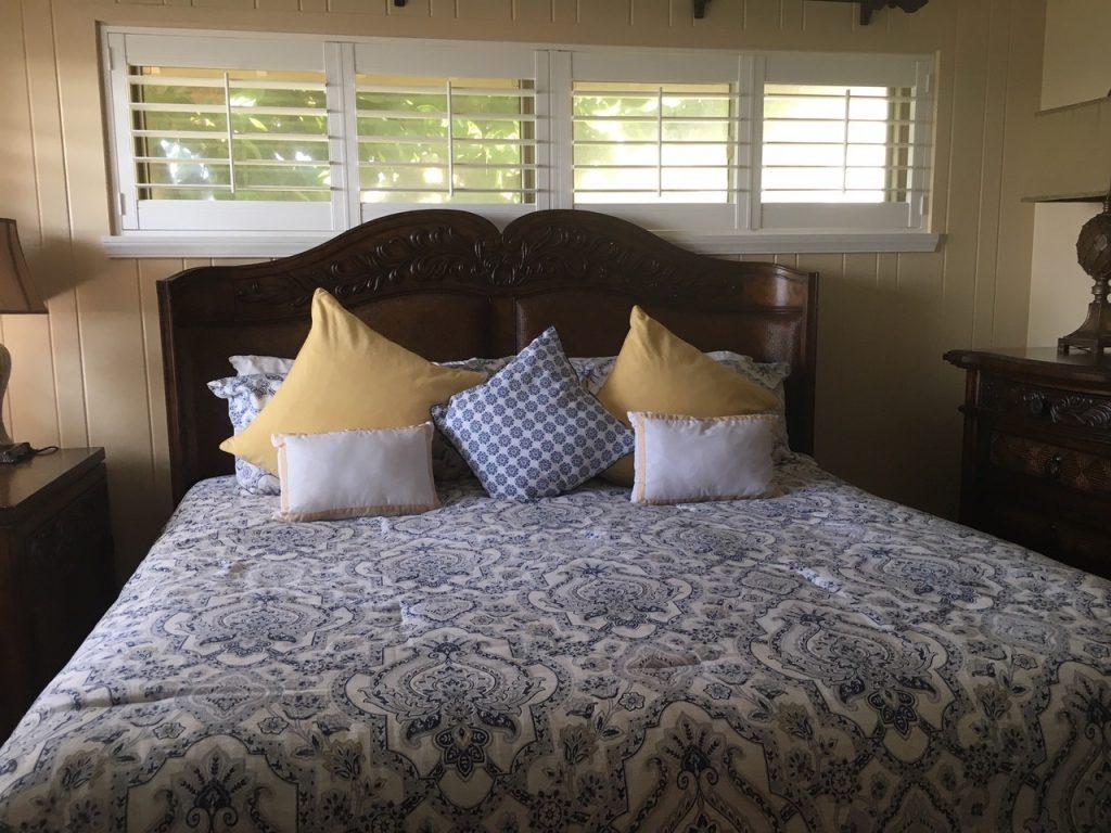 beach condo master bedroom villa 84