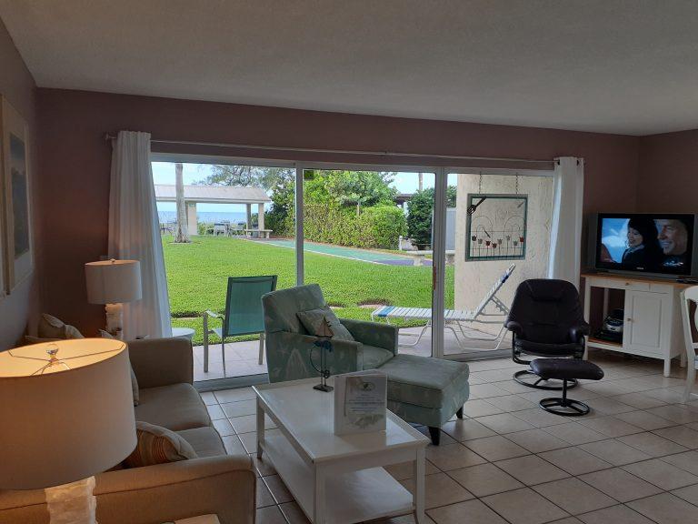 104 Living room Shuffleboard and gazeebo