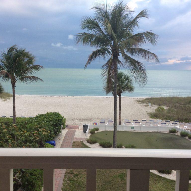 April 2020 Beach View